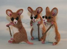 2012 TOBY Award 3 Blind Mice with a Vintage Rat Trap by SteviT