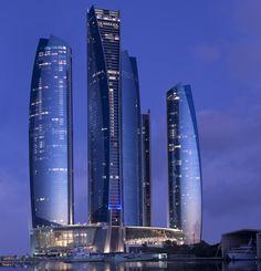 Etihad Towers -- Abu Dhabi