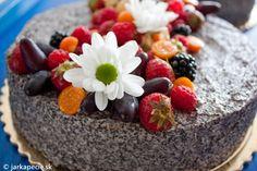 Bezlepkové recepty: Maková torta - KAMzaKRASOU.sk Acai Bowl, Paleo, Baking, Fruit, Breakfast, Sweet, Food, Basket, Acai Berry Bowl