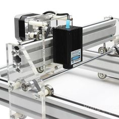 300mW Desktop DIY Violet Laser Engraving Machine Picture CNC Printer Sale-Banggood.com