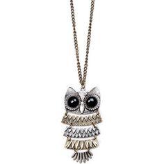 the owl jewelry