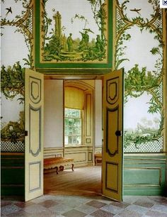 The Chinese Pavilion is a small pleasure palace in the grounds of Drottningholm.