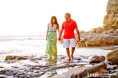 La Jolla Cove Beach Engagement Shoot | Jamie and Tyson / top local wedding photographers