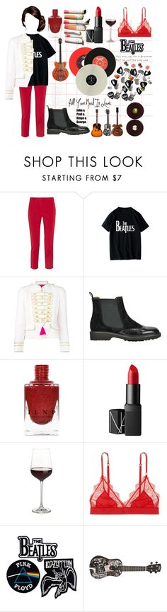 """""""BEATLES//CONTEST"""" by gaaaaalaxy ❤ liked on Polyvore featuring TIBI, WithChic, La Condesa, NARS Cosmetics, Crate and Barrel, LoveStories and Floyd"""