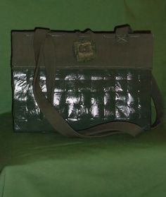 Bag made by recycled newspaper