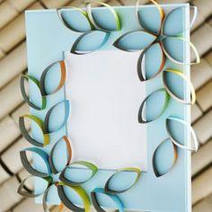 Flowers on frames