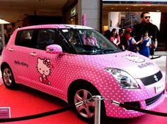 Hello Kitty Cars