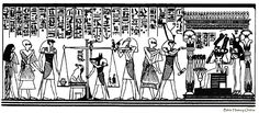 Scene of the Judgment in the Hall of the Two Truths - Illustration of the scene of judgment of Egyptian deities in the hall of the Two Truths. Bible Online, Spirit Photography, History Online, Christmas Carol, Ancient Egypt, Deities, Egyptian, Shadows, Truths
