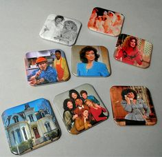 Designing Women Pin Back Buttons Atlanta Georgia Pin Set