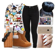 """Untitled #157"" by copperperro ❤ liked on Polyvore featuring Forever 21, Speck and Timberland"
