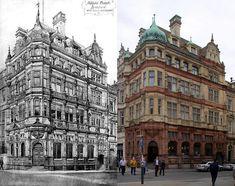 Adelphi Bank Building, Castle Street, and 2019 Banks Building, Liverpool, Castle, Louvre, Explore, Street, Buildings, Photography, Travel