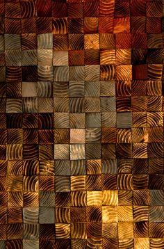 Wood wall Art Large, rustic wood art, wood mosaic ...