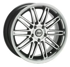 17 ZCW GRACE GLOSS BLACK POLISHED FACE AND LIP alloy wheels for 5 studs wheel fitment in 7x17 rim size