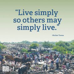 "Quotes - ""Live Simply"" by Feed My Starving Children (FMSC), via Flickr"