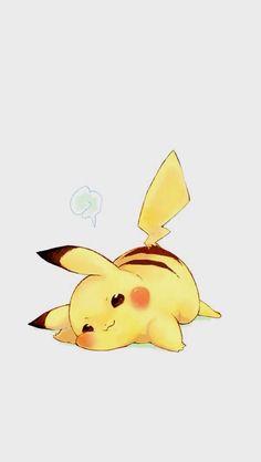 Must be tiring, being so darn cute cute chibi kawaii Pikachu pokemon Pikachu Pikachu, Pokemon Fan, Pokemon Fusion, Kawaii Chibi, Anime Kawaii, Anime Chibi, Images Kawaii, Pokemon Mignon, Pet Anime