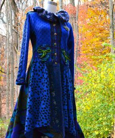 Custom Corset style Sweater COAT for Sue by amberstudios on Etsy. Beautiful!