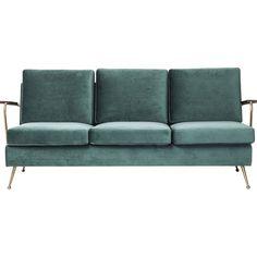 Sofa Gamble 3-Sitzer #Retro #KareDesign