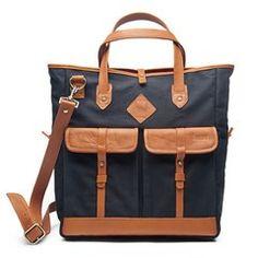 Tan Leather / Black Cotton Canvas I'm in love. Cute Handbags, Cheap Handbags, Handbags Online, Handbags On Sale, Purses And Handbags, Leather Handbags, Discount Handbags, Wholesale Handbags, Tan Leather