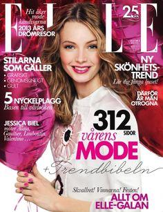 nice Elle Suécia | Capas Março 2013 | Mona Johannesson por John Scarisbrick