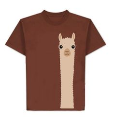 They look at you too! Alpacas are as curious about us as we are about them. With this shirt you can share alpaca curiosity and fun everywhere you go. Sure to get looks and start conversations wherever