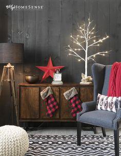 We've got the treatment for Holiday Cabin Fever. And it's a beauty. #MyHomeSense // Vive les longues journées de détente au chalet dans un décor nordique et féérique. #MonHomeSense