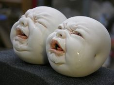 Trippy Ceramic Sculptures by Johnson Tsang (Photo Gallery)