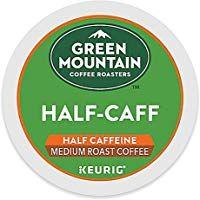 Green Mountain Coffee Roasters Half Caff Keurig Single Serve K Cup Pods Medium Roast Coffee 72 Co Green Mountain Coffee Medium Roast Coffee Dark Roast Coffee