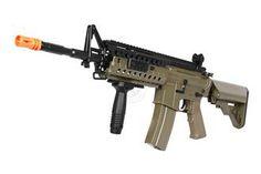 420 FPS DBoys Airsoft M4 Adaptive Rail AEG Rifle - FOLIAGE GREEN for Sebastian