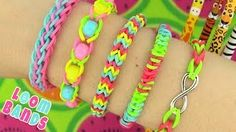 Making loom bands is a great activity for everyone from young children to adults. Our beginner patterns are easy to follow and make getting started a breeze. Just follow along with the video and get started making your first 5 rainbow loom bracelets.