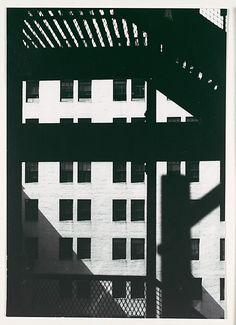 Walker EVANS :: Architectural Study, New York, 1929 #GISSLER #interiordesign