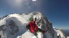Un joli petit combo Alpinisme et Parapente. Partis le matin à 2h30 du village du…