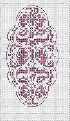 Very nice oval crochet doily - Picasa Web Albums Cross Stitch Books, Cross Stitch Flowers, Cross Stitch Kits, Cross Stitch Designs, Cross Stitch Patterns, Filet Crochet Charts, Crochet Motif, Crochet Designs, Crochet Doilies