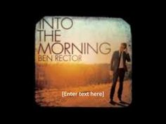 I sing this song to my husband all the time!  :D  Loving you is easy - Ben Rector