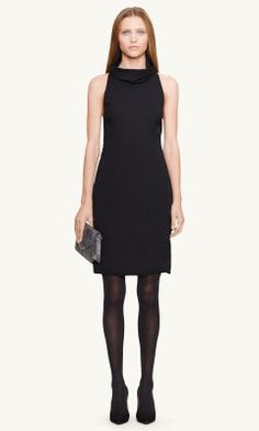 Racerback Faye Dress - Black Label Sale - RalphLauren.com