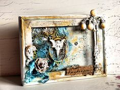 13 pasji by Ayeeda: Altered frame - Ramka with Flying Unicorn KOM