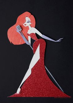 Disney Pin WDI DCA Jessica Rabbit Costume Le 300 As Minnie's Fly Charter Air