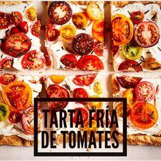"""6 Me gusta, 2 comentarios - Esteban Cocinero (@estebancocinero) en Instagram: """"Tarta fría de tomates  Que calor que hace en la ciudad... acá te dejo una receta simple y fresca…"""""""