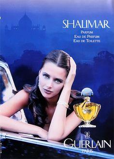 Shalimar Eau de Parfum Guerlain perfume - a fragrance for women 1925 Perfume Ad, Cosmetics & Perfume, Perfume Oils, Perfume Bottles, Vintage Perfume, Shalimar Guerlain, Guerlain Paris, Vintage Advertisements, Vintage Ads