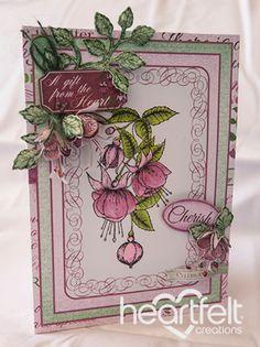 Heartfelt Creations | Cherish Pink Fuchsias