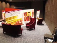 AISM Convegno Giovani, Roma, Personalizzazione spazio incontro