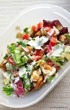 Ready for 28 chicken salad recipes that are totally not boring? With riffs on traditional chicken salad recipes to include healthy and grilled chicken salad options, we think you'll love this list as much as we do. Grilled Chicken Salad, Chicken Salad Recipes, Feta Chicken, Chicken Club, Risotto Recipes, Club Salad Recipe, Oven Risotto, Sprout Recipes, Bean Salad