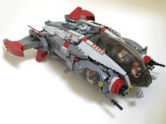 Gryphon Objective aggressive exploration vessel | by Buster®