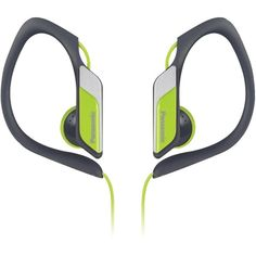 PANASONIC RP-HS34-Y Sweat-Resistant Sports Earbuds (Neon)