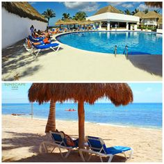 Whether you prefer to spend the vacation lounging on the beach or by the pool, Sunscape Sabor Cozumel has what you need!