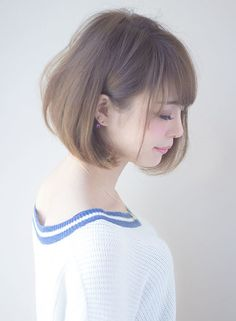 A soft short perm with elegance - New Site Boy Haircuts Short, Edgy Haircuts, Short Bob Hairstyles, Girl Hairstyles, Hair Setting, Fringe Hairstyles, Good Hair Day, Dream Hair, Short Hair Cuts
