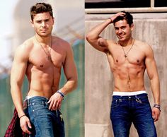 I really don't see any reason for Zac Efron to ever have to wear a shirt... Ever