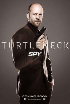Jason Statham Spy Poster