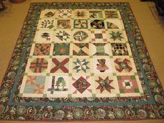 2008 Western WA Shop Hop quilt...I am on a Shop Hop completion roll.