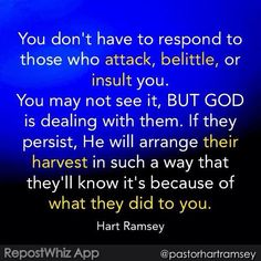 Amen  God is dealing with Evil for Us