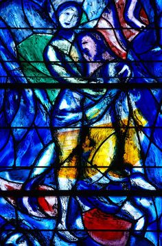 Stained glass by Marc Chagall in the Fraumünster, Zürich | Flickr ..
